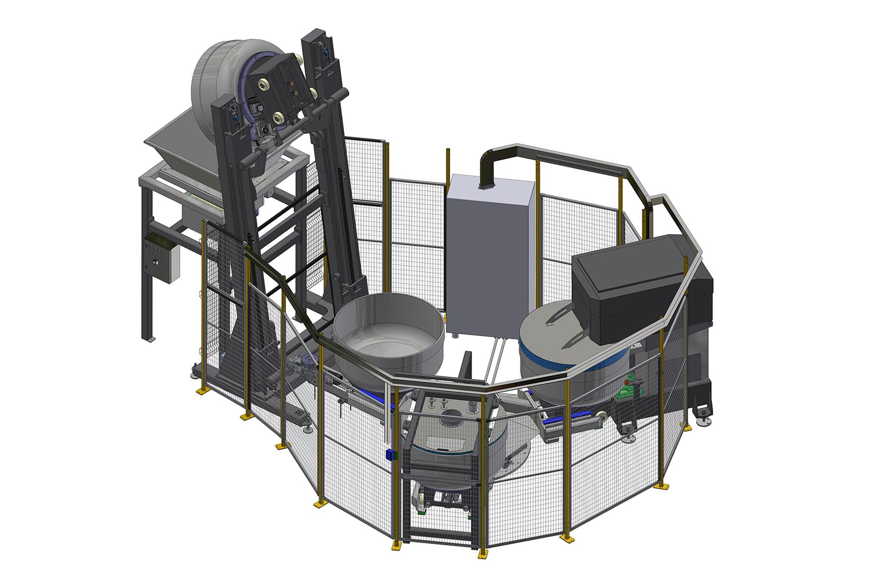 IAR - sistema automatico rotativo mixer