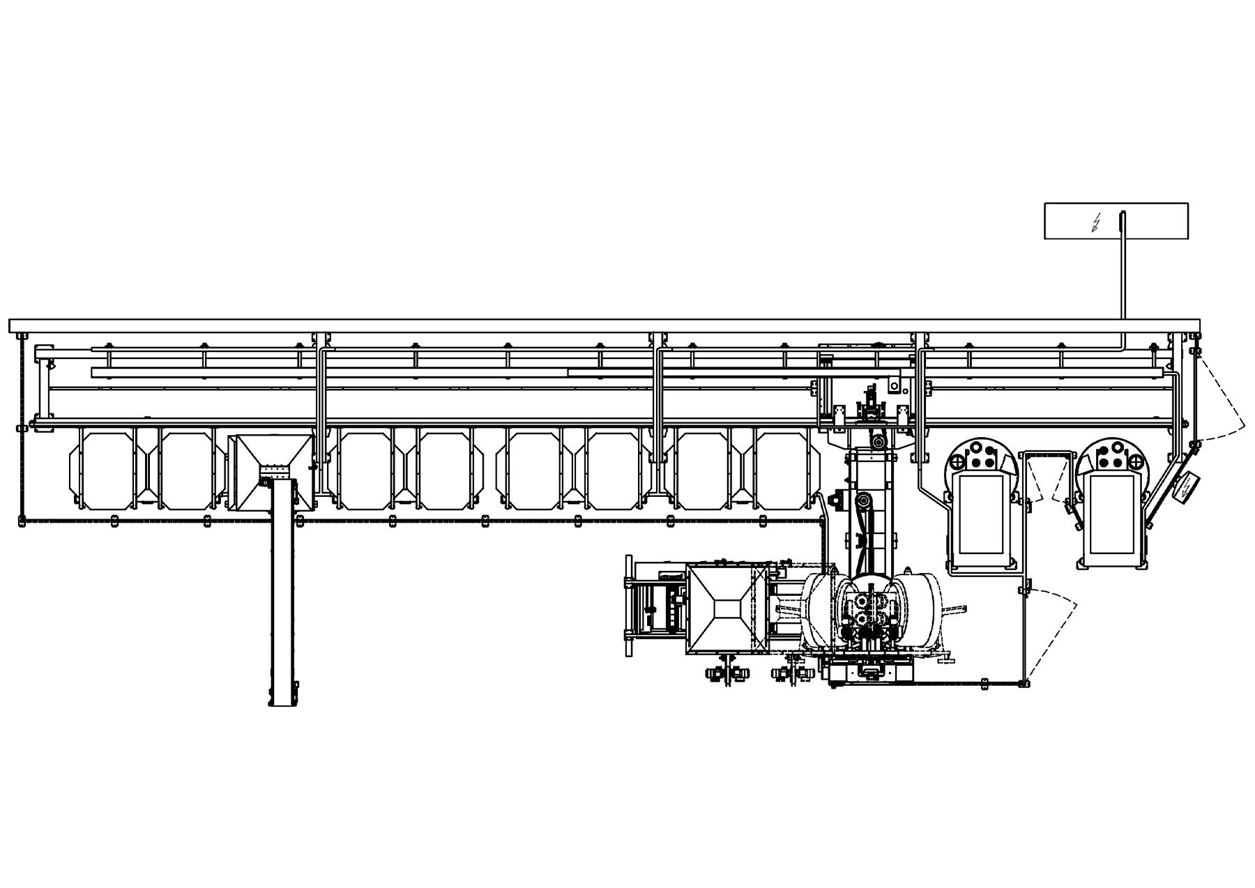 ial sistema automatico lineare mixer